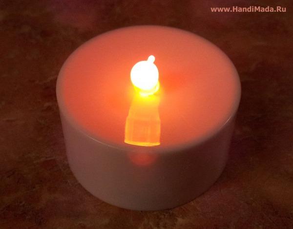Светодиод свеча своими руками