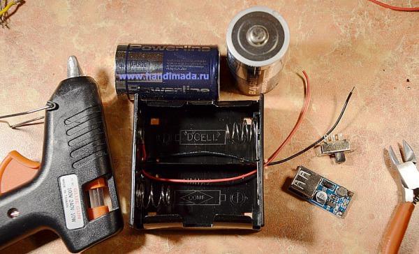 Как сделать зарядку для батареек своими рук 3